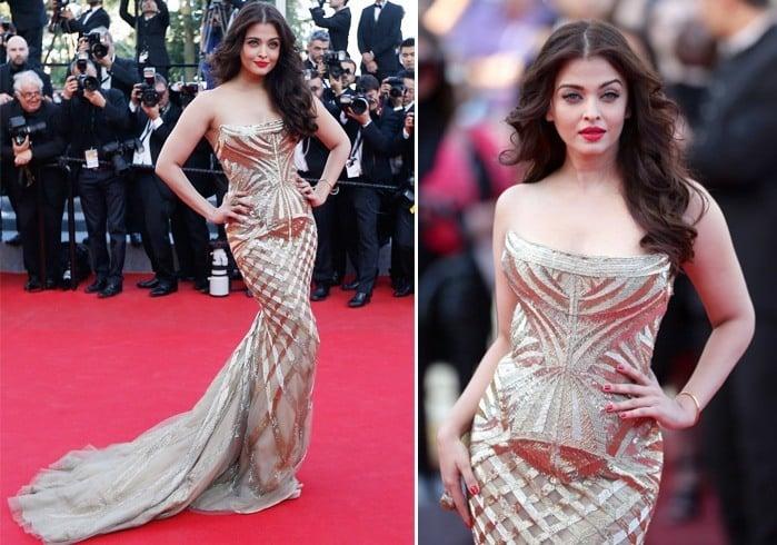 Aishwarya Cannes 2014