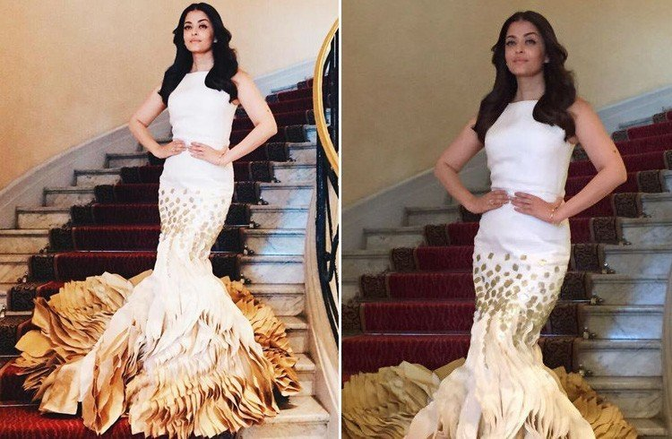 Aishwarya Cannes 2015 Gowns