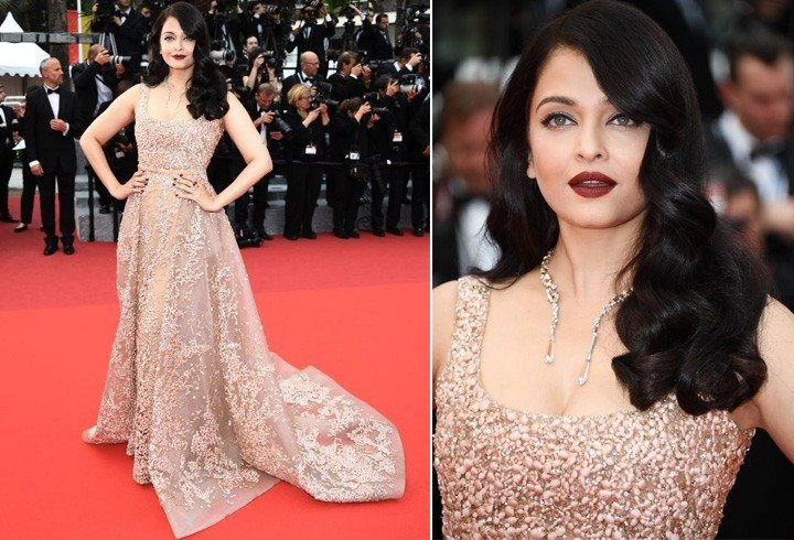 Aishwarya In Elie Saab Gown In Cannes 2016
