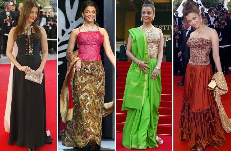 Aishwarya Rai At Cannes 2003