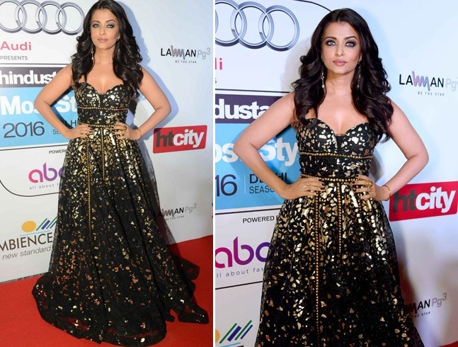 Aishwarya Rai at HT Most Stylish Awards 2016
