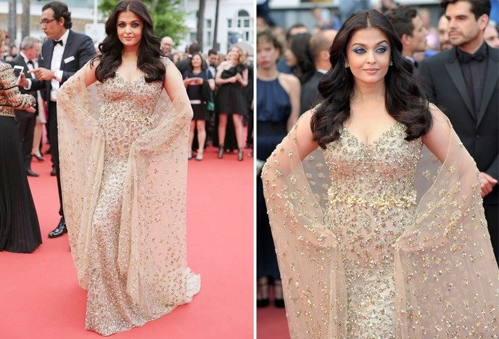 Aishwarya Rai In Ali Younes Gown