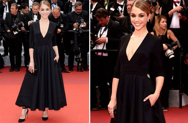 Alice Isaaz At Cannes 2016