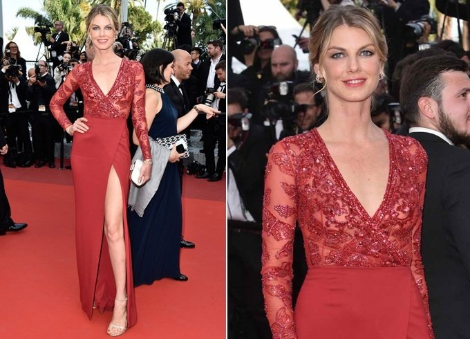 Angela Lindvall At Cannes 2016