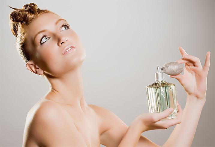 Apply Perfume