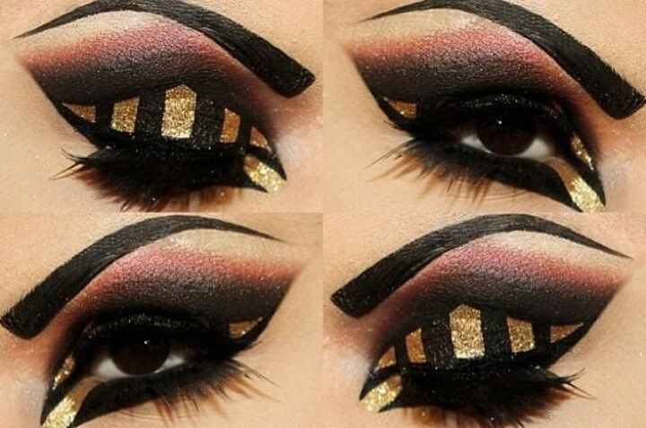 Cached Arab eye makeup pictures
