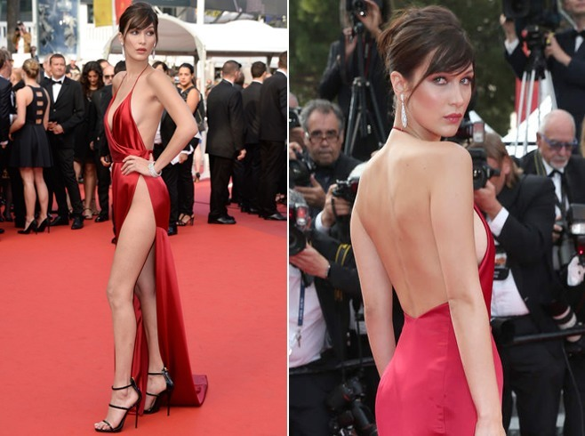 Bella Hadid Dresses At Cannes of 2016
