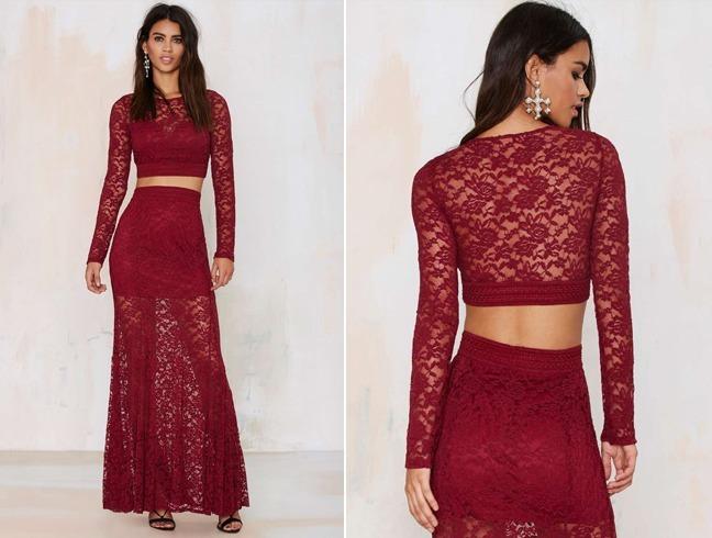 Best Ways Tto Wwear Lace Maxi Skirt