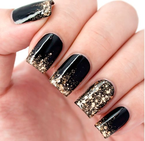 black and gold is a match made in heaven