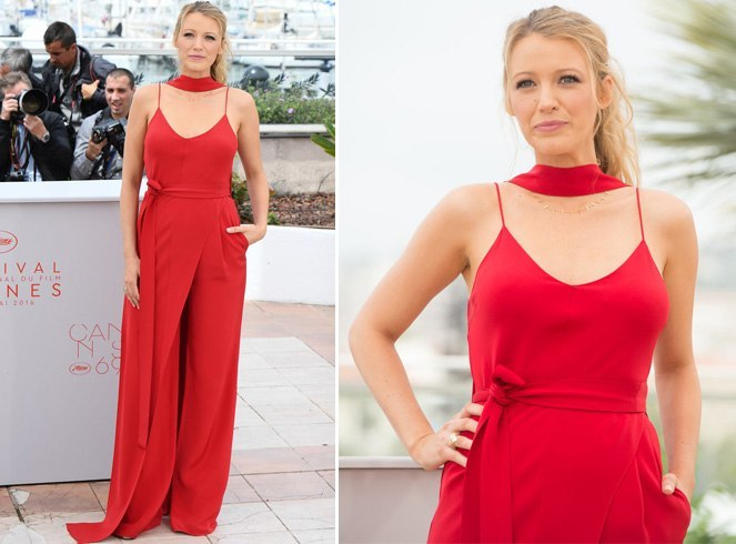 Blake Lively at 69th Cannes