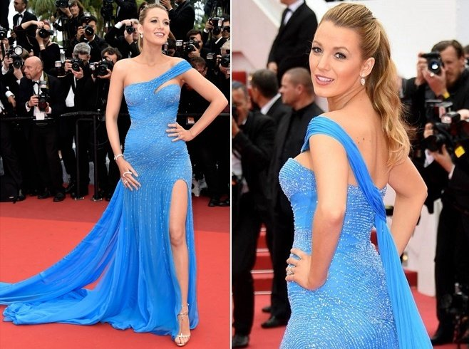Blake Lively Dresses At Cannes 2016