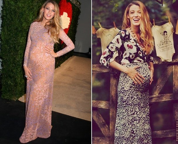 Blake Lively Maternity Outfits