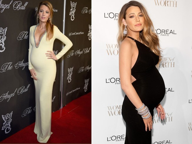 Blake Lively Pregnancy Outfits