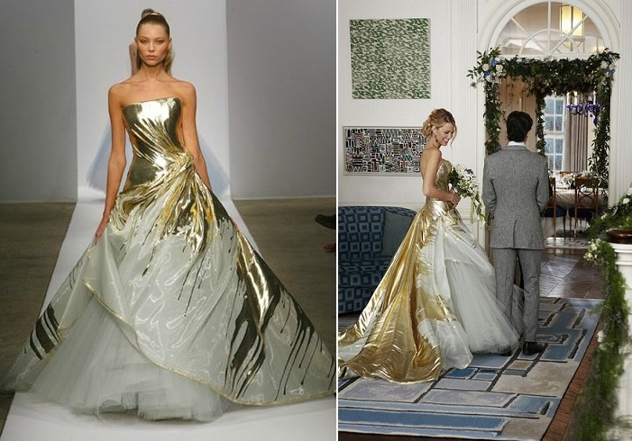 Blake Lively Wedding Dresses
