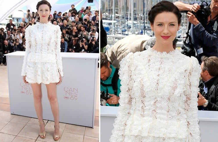 Caitriona Balfe at Cannes 2016