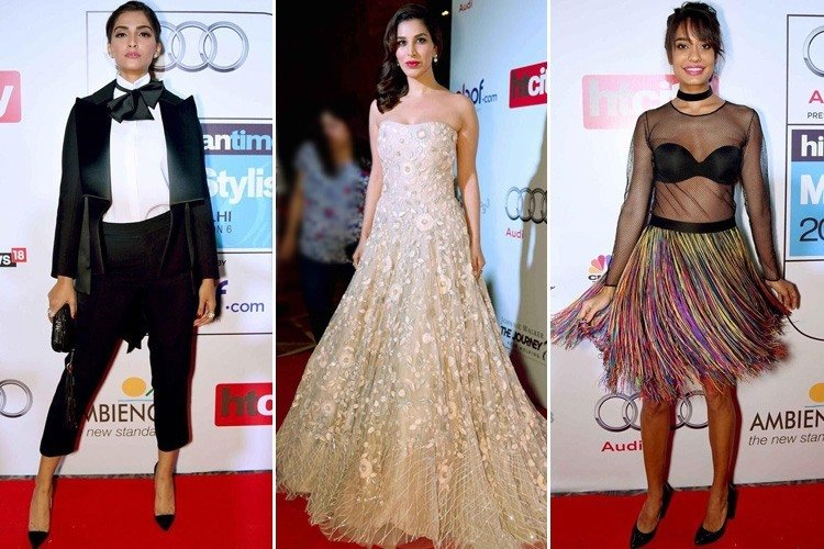 Celebs at HT Most Stylish Awards 2016