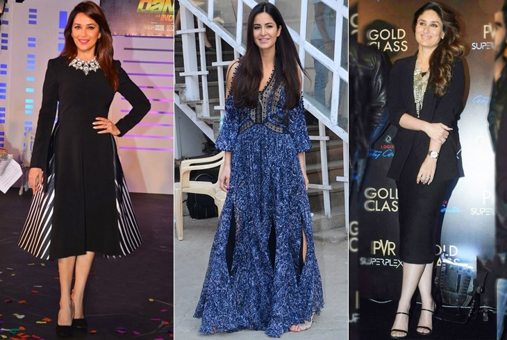 Celebs In Gowns