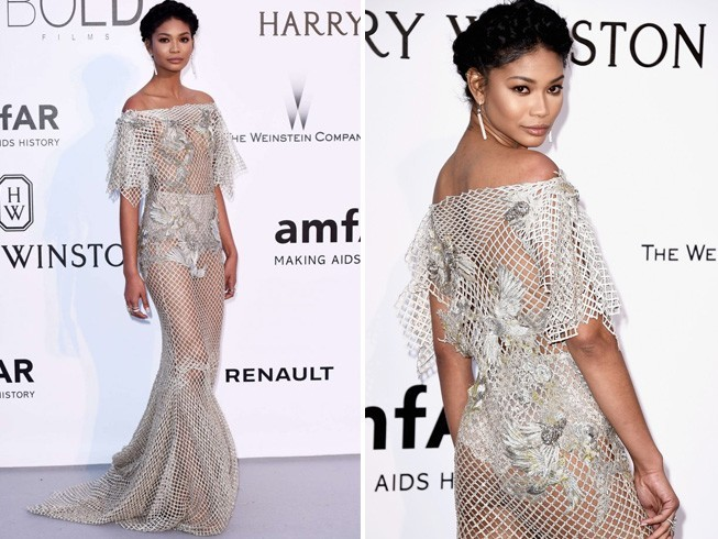 Chanel Iman At Cannes 2016