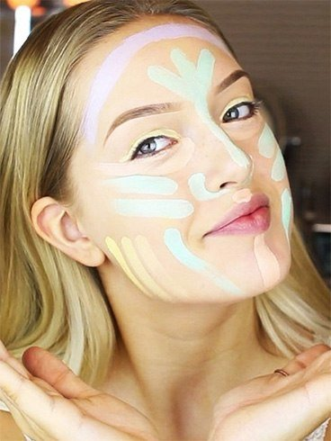 Color contouring