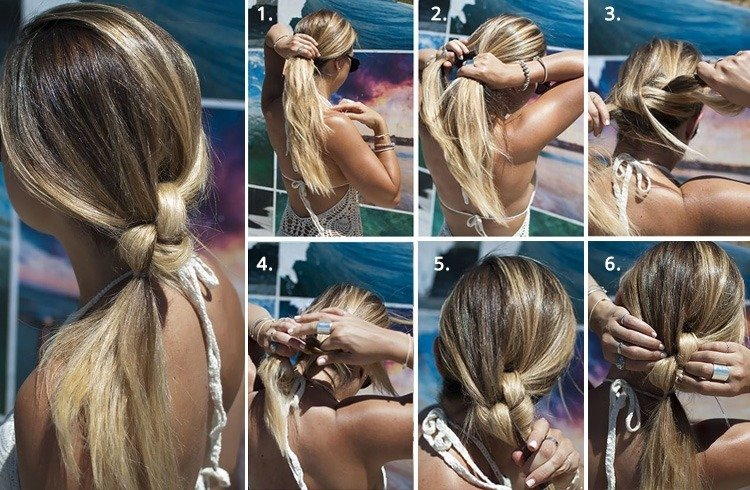 Cute Easy Ponytails