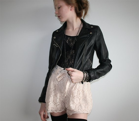 Cute Outfits With Lace Shorts