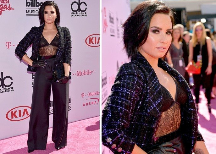 Demi Lovato At Billboard Music Awards 2016