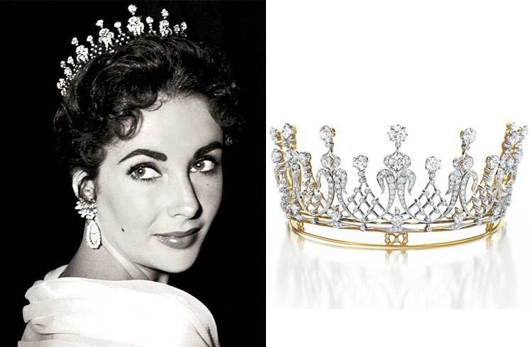 Elizabeth Taylor Crown