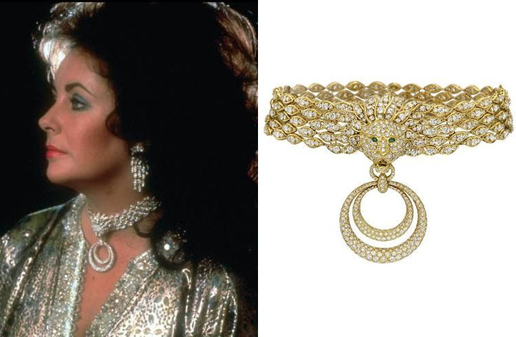 Elizabeth Taylor diamond necklace