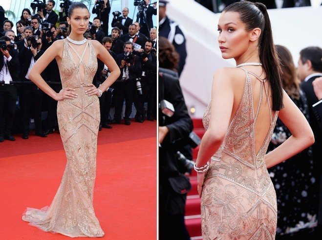 Bella Hadid at Cannes 2016