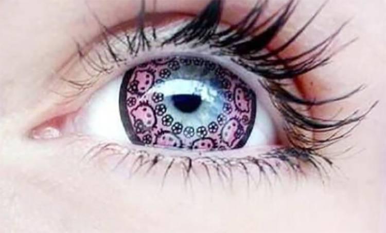 Eye Lens Color For Wheatish Skin