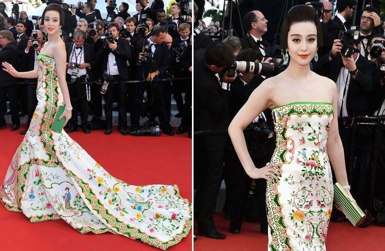 Fan Bingbing at Cannes 2012