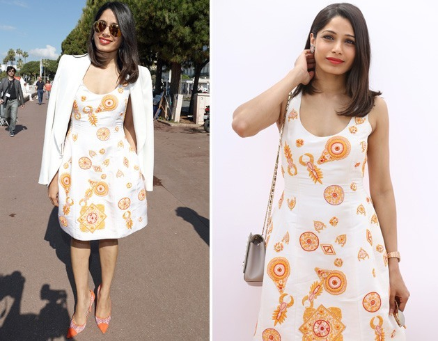Freida Pinto In A Prabal Gurung Dress