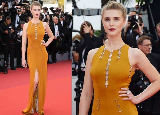 Gaia Wess at Cannes 2016