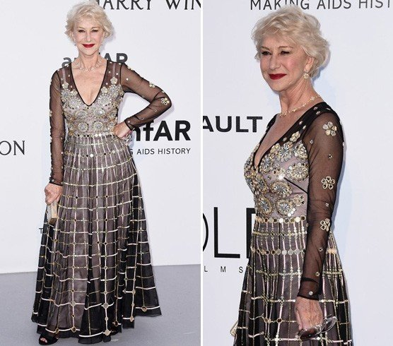 Helen Mirren At Cannes 2016