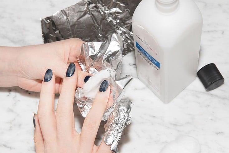Way To Take Off Gel Nails