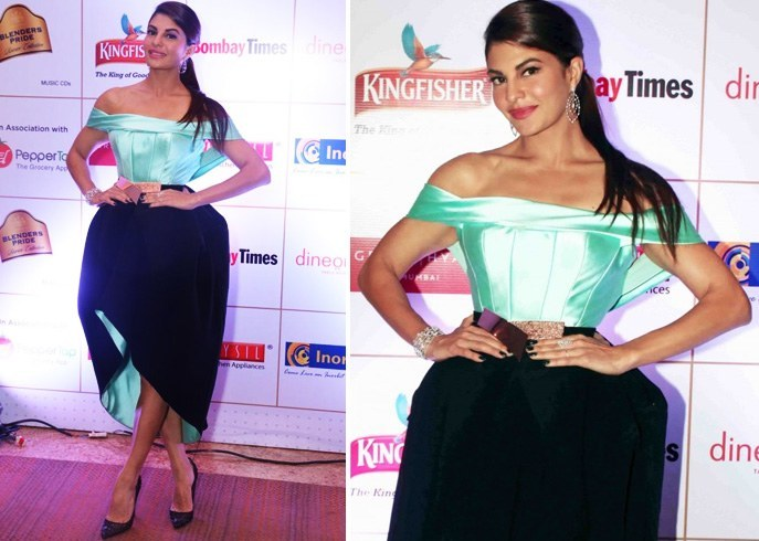 Jacqueline Fernandez in Saiid Kobeisy dress