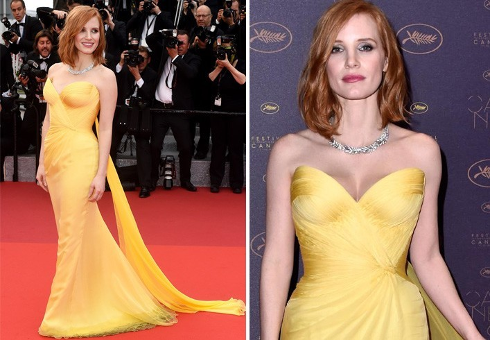 Jessica Chastain at Cannes 2016
