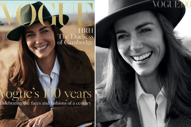 Kate Middleton on Vogue British 2016