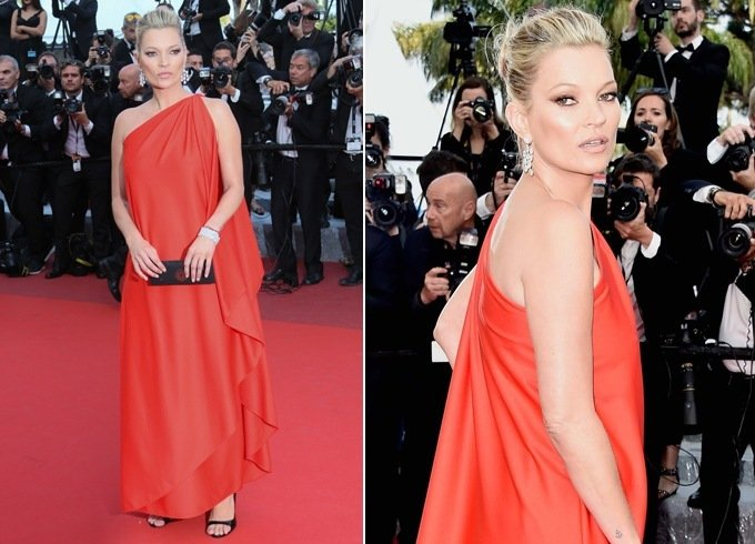 Kate Moss Aat Cannes 2016