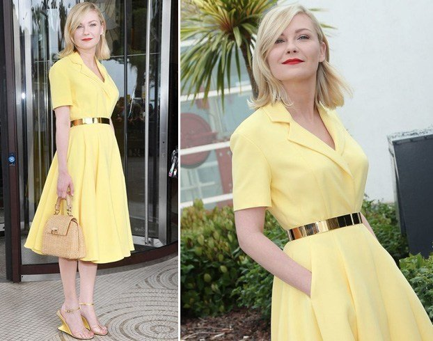 Kirsten Dunst at 69th Cannes Film Festival