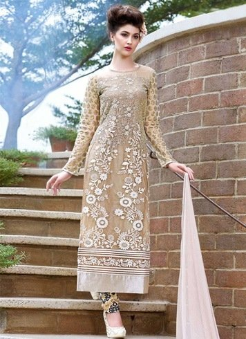 Lace and sheer salwars and straight pants