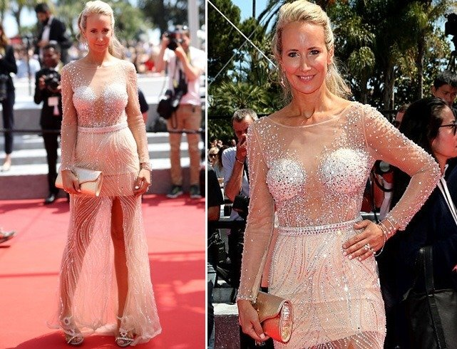 Lady Victoria Hervey at Cannes 2016