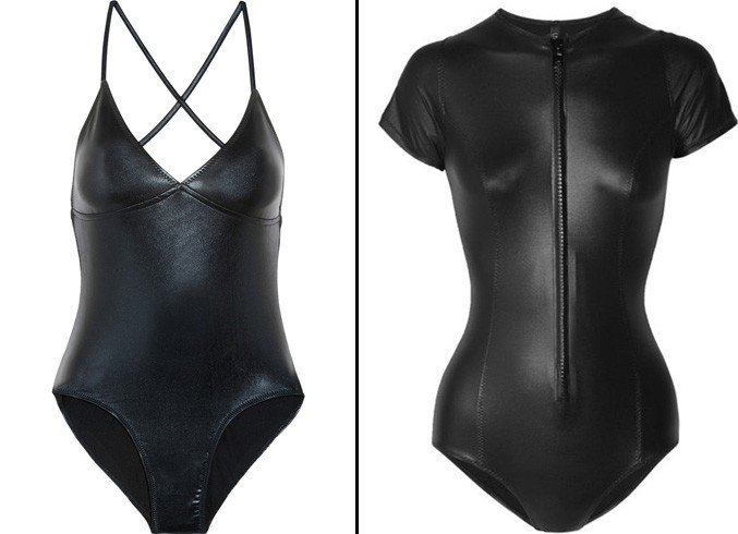 Leather Swimsuits