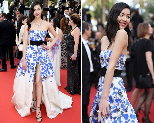 Liu Wen At Cannes 2016