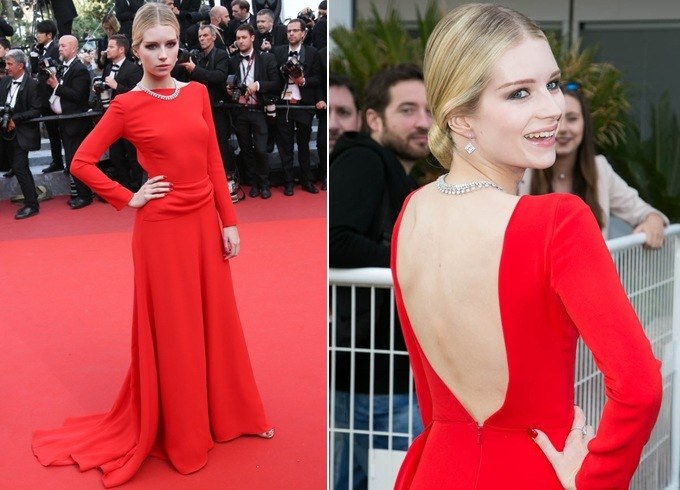 Lottie Moss At Cannes