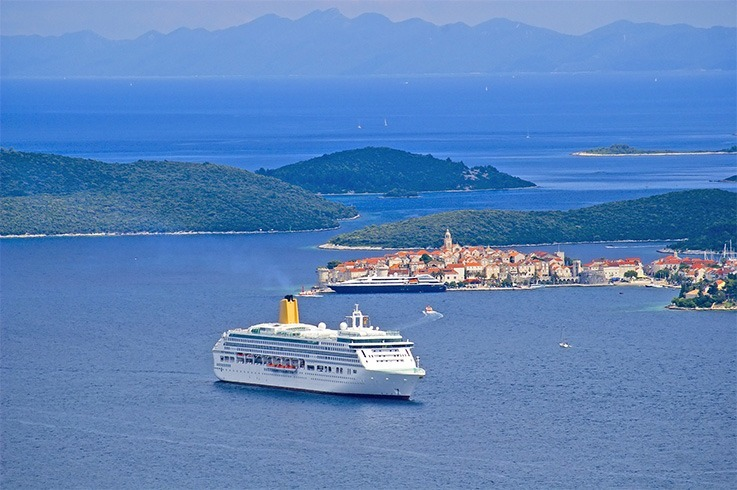 Luxury Cruise Mediterranean Sea