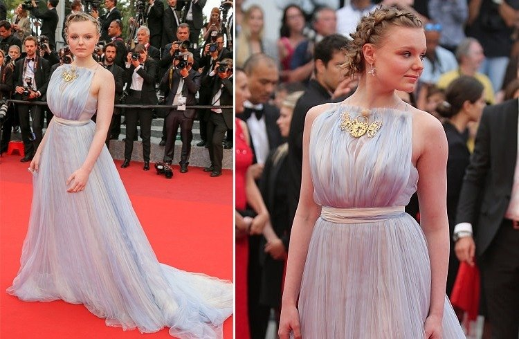 Maria-Victoria Dragus At Cannes 2016