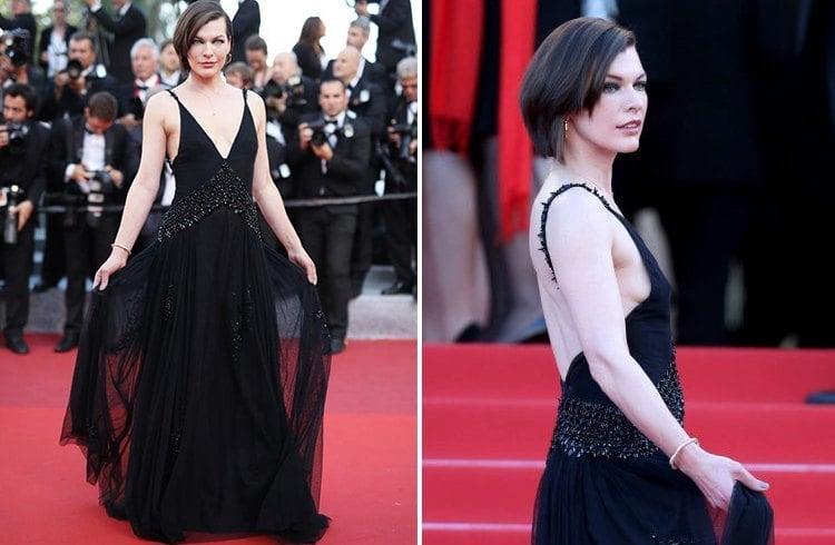 Milla Jovovich At Cannes 2016