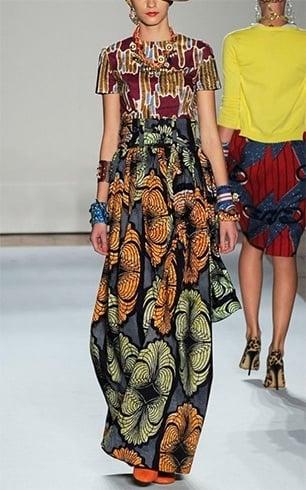 Modern Aafrican Print Dress