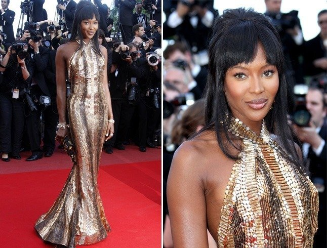 Naomi Campbell at Cannes 2010